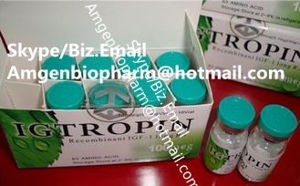 China Anti - aging Human growth hormone drug Kigtropin natural supplement 10iu / vial supplier