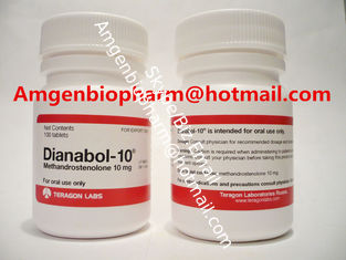 China Dianabol 10mg Natural Oral Anabolic Steroids with 10mg * 100tabs / bottle supplier