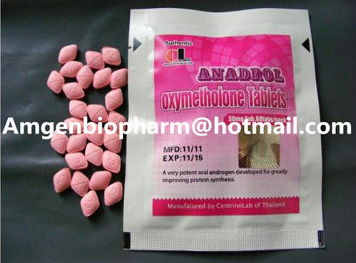 China Legal Natural Oral Anabolic Steroids Anadrol Oxymetholone 50mg / 60 CL brand distributor